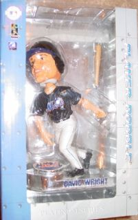 New York Mets 2006 David Wright 5 Bobblehead Platinum