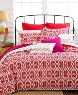 Tommy Hilfiger Bedding, Preppy Ikat Comforter and Duvet Cover Sets