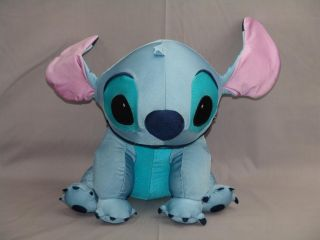 and Stitch Blue Alien Dog Microbead Pillow Plush Stuffed Animal