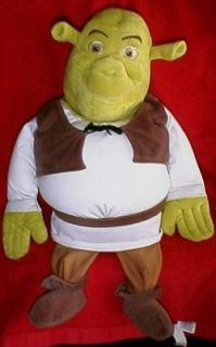 Shrek 22 Microbead Squishy Pillow Plush Doll O0