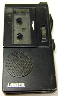 Model P 135 Micro Cassette Microcassette Recorder Pocket Dictation