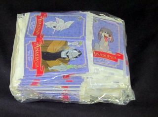 Lot of 100 1998 Upper Deck Anastasia Trading Card Packs