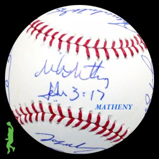 2012 ST. LOUIS CARDINALS TEAM SIGNED ROMLB BASEBALL BALL CHRIS