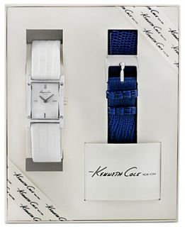 Kenneth Cole New York Watch Set, Womens Interchangeable Blue and