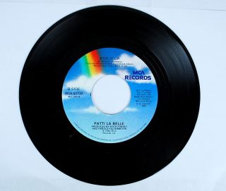 Patti La Belle and Michael McDonald On My Own Record 7 Inch Vinyl