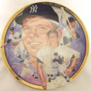Mickey Mantle 1992 Sports Impressions Collector Plate