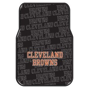 Cleveland Browns Car Floor Mats Steering Wheel Cover