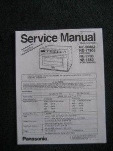 Panasonic Commercial Proii Microwave Steamer Tech 2600W NE 2680J NSF