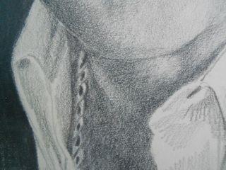 Original Pencil Drawing Portrait of Dick Clark by Michael G Reagan