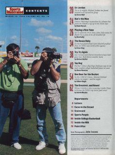 ILLUSTRATED Michael Jordan White Sox Danny Manning John Daly 3/14 1994