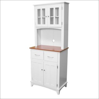 Mobile Kitchen Microwave Cart Cabinet Storage Island With