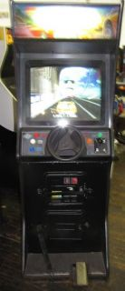 Midway CruisN World Upright Driving Arcade Video Game