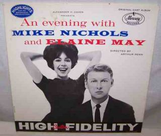 LP Record Mike Nichols Elaine May Mercury OCM 2200