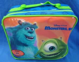Walt Disney Monsters Inc Lot Plush Scully Stuffed Lunchbox Thermos
