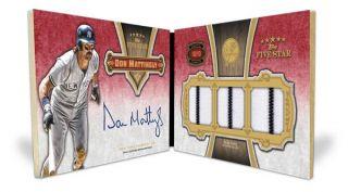 Braves 2012 Topps Five Star Baseball 3 Box Team Bag Case Break 2 Live