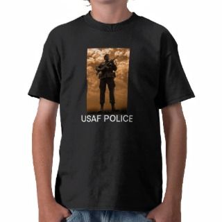USAF Police Memorial Statue Tee Shirts