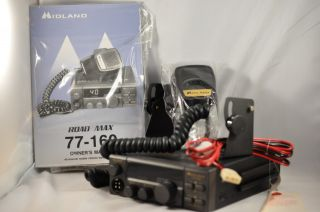Midland 77 160 XLT 40 Channel Road Max CB Radio New