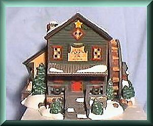 Rock Creek Mill House New Department Dept 56 Snow Village D56 SV
