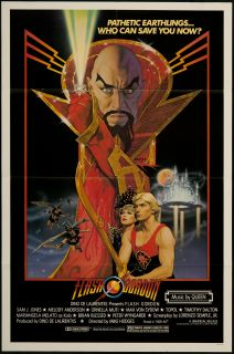 Flash Gordon 1980 Original U s One Sheet Movie Poster