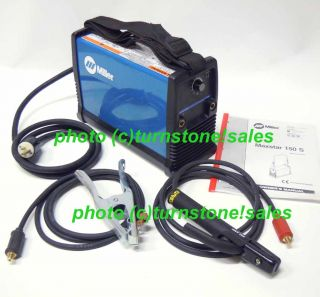 Miller MaxStar 150 s Stick Welder Arc Welding Machine w Leads 115
