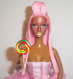 OOAK Nicki Minaj Stupid Hoe Integrity Barbie Doll Repaint Pink Friday