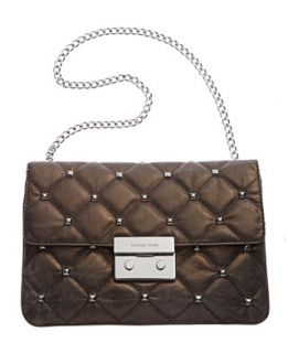 MICHAEL Michael Kors Handbag, Sloan Quilt Stud Clutch