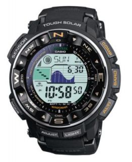 Casio Watch, Digital LCD Pathfinder Titanium Bracelet PAG240T 7   All