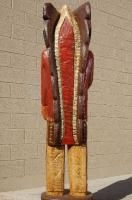 Native American Frank Gallagher 7 ft Cigar Store Wooden Indian Chief