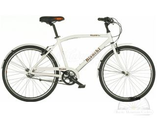 Bianchi Milano Parco 3 Speed Internal Gear City Cruiser Bike 16 5