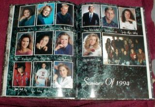 1994 Clarkson Nebraska High School Yearbook