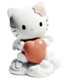 Nao by Lladro Collectible Figurine, Hello Kitty From The Heart