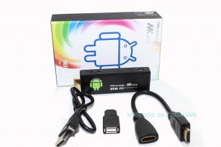 3rd Generation MK802 II Android 4 0 Mini PC Google TV Box Internet