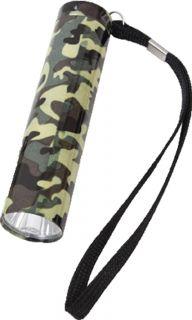 Camouflage Military 1 Watt Single LED Flashlight (Item # 877