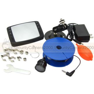"Mini Underwater Fishing Camera Kit 420TVL with Portable 3 5"" LCD"