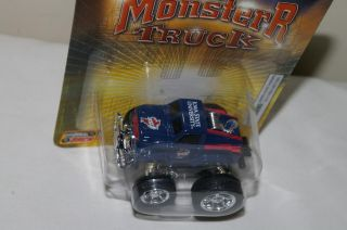 State Cyclones Die Cast Metal Mini Monster Truck Collectible