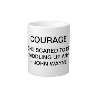 Courage John Wayne Mug Jumbo Mugs