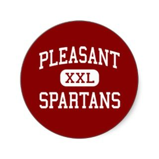 Pleasant   Spartans   High School   Marion Ohio Stickers