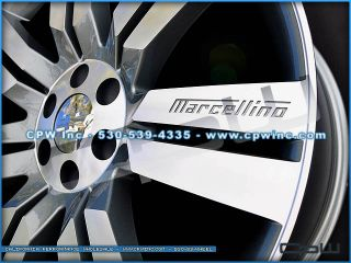 Chevy Silverado Suburban Tahoe 24 inch Wheels Rims Gunmetal Mach Face