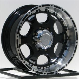18 inch Black Wheels Rims Ford Truck F 250 350 F250 F350 Super Duty 8
