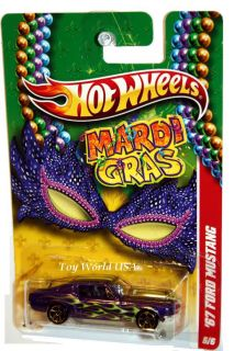 2011 Hot Wheels Mardi Gras 5 67 Ford Mustang