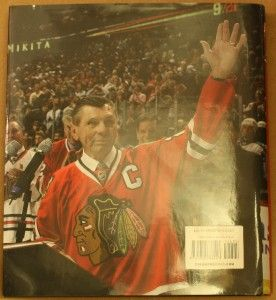 Stan Mikita Signed Forever A Blackhawk Book w Tribute DVD Chicago