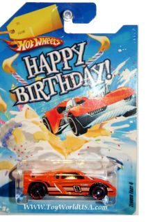 Hot Wheels 2010 Wal Mart Happy Birthday Zender Fact 4