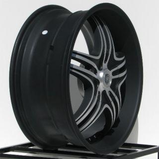 20 inch Black Rims Wheels Jeep Grand Cherokee Wrangler JK Ford Mustang