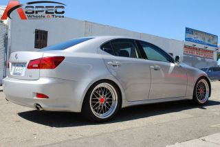 19 LM Style Wheel Staggered Fit Lexus IS250 is350 Rwd