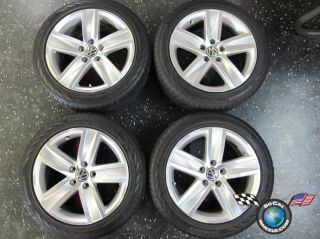 Volkswagen VW Jetta Passat Golf CC Factory 17 Wheels OEM Rims 5x112