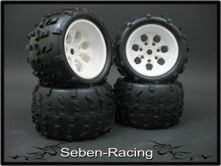 Monster Rims Tires Wheels MRF6 1 8 Hard Pimp Style
