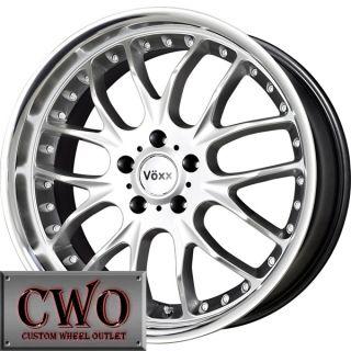 18 Silver Voxx Maglia Wheels Rims 5x120 5 Lug BMW 5 6 7 8 Series s 10