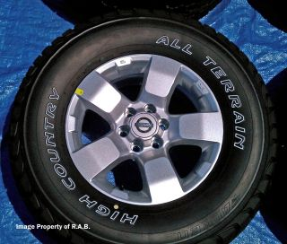 Nissan Frontier Xterra Pathfinder 16 Wheels Tires