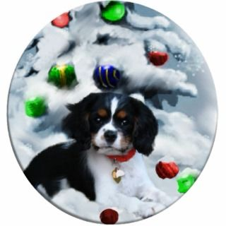 Cavalier King Charles Spaniel Christmas Gifts Photo Cut Out