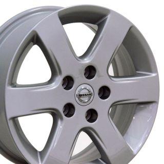 16 Nissan Altima Wheels Silver 62396 Rims Fit Leaf Maxima Quest Rogue